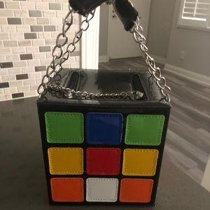 Rubix cube bag- perfect for Halloween!